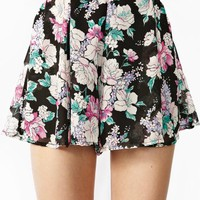 Blooming Chiffon Shorts