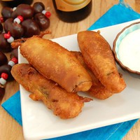 Beer Battered Fried Pickles | Sweet Pea&#x27;s Kitchen