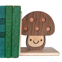 Woodland Mushroom Toadstool Bookend (1)