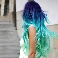 Hair Chalk - 1 STICK - Choose your color - Temporary Hair Color - Ombre Hair Dying - Hair Chalking