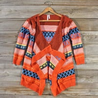 Bonfire Knit Sweater, Sweet Navajo Inspired Sweaters