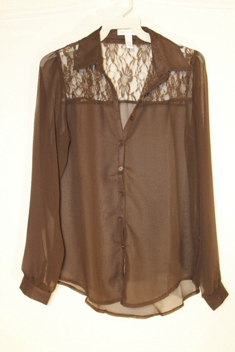 Where Can I Buy A Brown Blouse 120