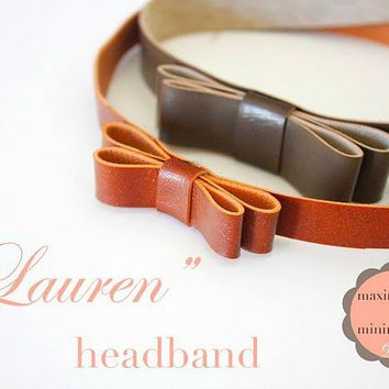 "~Ruffles And Stuff~: The ""Lauren"" Headband Tutorial!"