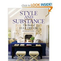 Amazon.com: Style and Substance: The Best of Elle Decor (9781933231600): Margaret Russell: Books