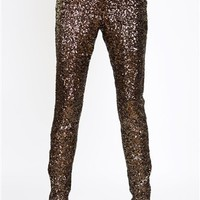 Cameo Sequin pants- Underwater Sequin Pants- $190