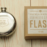 Izola Put Some Hair On Your Chest flask | Tigertree Put Some Hair On Your Chest flask
