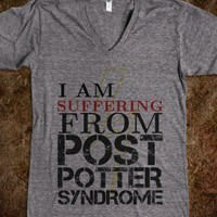 """I am suffering from Post Potter Syndrome"" - When a Fangirl Make T-shirts"