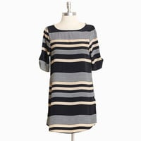 Seaport pier striped dress