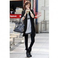 Distinctive and Comfortable Pure Color Loose Sweater China Wholesale - Sammydress.com