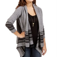 Heather Grey South West Cardigan