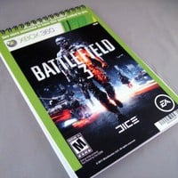 Battlefield 3 Recycled Notebook