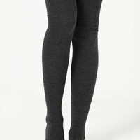 Overcast Thigh High Socks - $12.00 : ThreadSence, Shop women's indie and bohemian clothing at ThreadSence.com, featuring cool brands like MINKPINK, Motel, Vanessa Mooney, Unif, For Love & Lemons, Stylestalker & more!