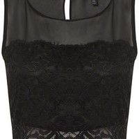 Petite Lace Panel Crop - New In This Week  - New In