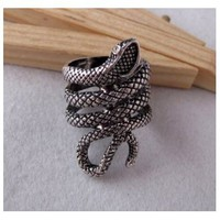 Antique Snake Ring