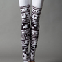 White Tribe Leggings