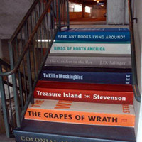 Book Stairs Promote Books in a Big Way » Promotional Products & Marketing Blog
