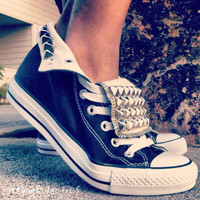Sale on all Studded Converse Shoes