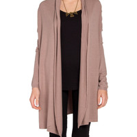 Open Shawl Cardigan - 2020AVE