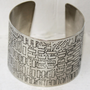 San Francisco Vintage Map Cuff