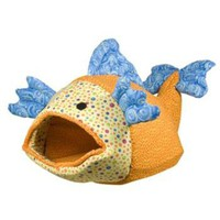 Lazy Pet Funky Fish Bed for Cats | Pet Beds