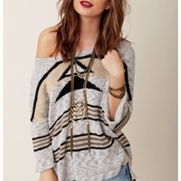 Vintage Havana - Tassle Tribal Sweater