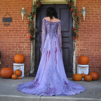 Enchanted Elfin Queen Gown by TheBohemianGoddess on Etsy