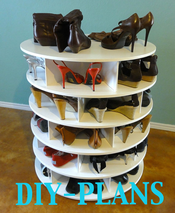 The DIY Lazy Shoe Zen Shoes Rack Plans from ShoesRack on Etsy