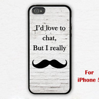 iPhone 5 Case, mustache iphone 5 case, graphic iphone 5 case, case for iphone 5