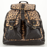 Canvas Leopard Backpack 205902400 | Backpacks | Tillys.com