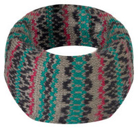 Traditional Fairisle Snood - Scarves  - Accessories