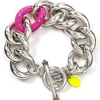 Juicy Couture Large Link Bracelet - All Jewelry - Bloomingdales.com