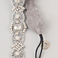 Deepa Gurnani Ivory Crystal Headband | SHOPBOP