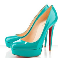 Christian Louboutin Pumps Bianca Jade [2011081302] - $209.00 : Christian Louboutin Shoes On Sale, Enjoy 75% Off The Shoes Outlet!