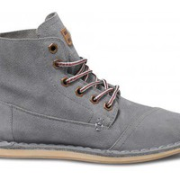 Grey Suede Women&#x27;s Tomboy Boots | TOMS.com
