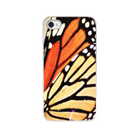 "iPhone Case - Monarch Butterfly Wing - Fine Art Photography - ""If Nothing Ever Changed..."""