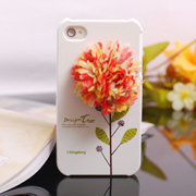 Apple iPhone4 Big Flower Skin Shell Cover - gulleitrustmart.com