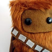 Star Wars Chewbacca Fur Ooak .15cm