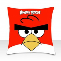 piiqshop - Market Place - Cushion Icon - Angry Birds - Red