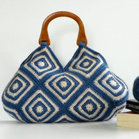 NzLbags New Summer Bag Afghan Crochet Bag Handbag by NzLbags