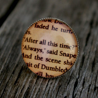Harry Potter Snape quote- adjustable ring
