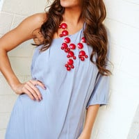 Oh Happy Days Dress: Light Gray | Hope's