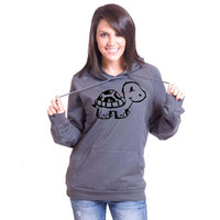 Turtle American Apparel Pullover Hoodie