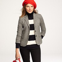 Schoolboy blazer in classic Donegal tweed - J.Crew
