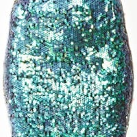 Splash Sequin Skirt