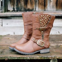 Telluride Studded Boots, Rugged Boots & Shoes