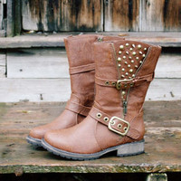 Telluride Studded Boots, Rugged Boots &amp; Shoes