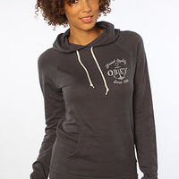 The Finest Anchor Fleece Pullover Hoody