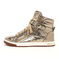 MICHAEL Michael Kors Metallic Glam Studded High-Top - Michael Kors