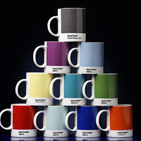 Pantone Mugs : W2&#x27;s range colourful mugs
