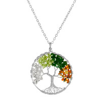 TREE OF LIFE NECKLACE - FOUR SEASONS | Silver, Pendant, Tree, Jewelry,... - StumbleUpon